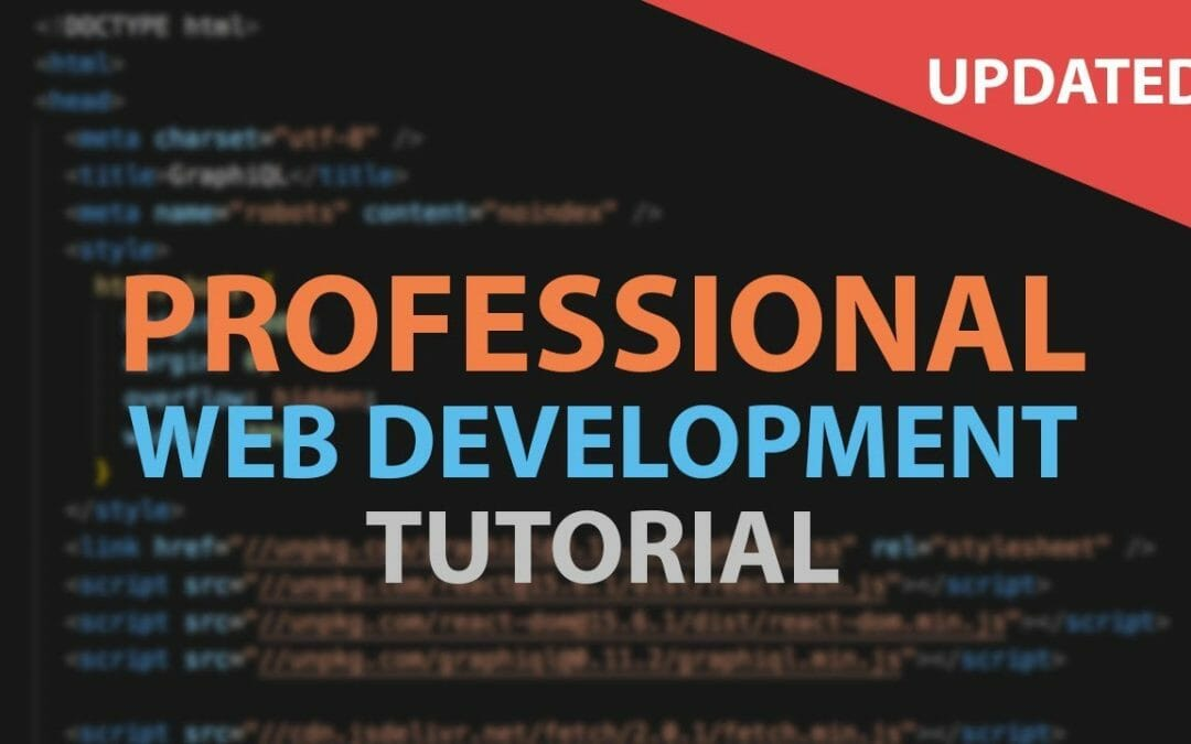 Web Development Tutorial For Beginners 2018 / 2019 – how to make a website